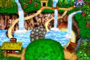 DKC3GBA Screenshot Baboon Bucht