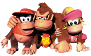 Group Art 1 - Donkey Kong Country 2