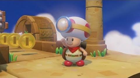Anuncio de Capitán Toad Treasure Tracker en el E3 2014
