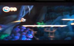 DKCR Screenshot Lustiger Loren-Limbo
