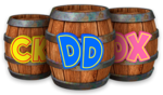 DKCTF Artwork Partner-Fässer