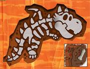 PMCS Draggadon Fossil Concept Art
