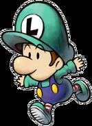Baby Luigi Artwork (Mario & Luigi - Partners in Time)