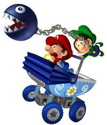 Bebe Mario y Bebe Luigi MKDD