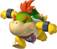NSMB Artwork Bowser Jr