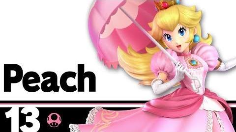 13 Peach – Super Smash Bros