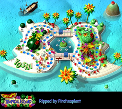 MP Screenshot Yoshis Tropeninsel
