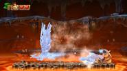 DKCTF Screenshot 6-Boss Frostfeuriges Finale (Nach 7 Treffern)