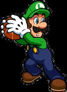 Luigi Artwork - Mario Hoops 3-on-3