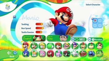 Mario&SonicRioCharactersSelect