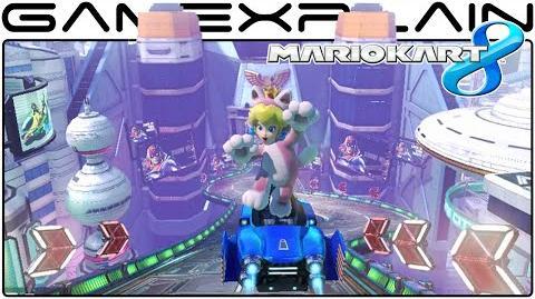 Mario Kart 8 DLC Mute City Gameplay