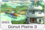 Plaine Donut 3 - MK8 (icône)