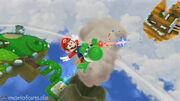 SMG2 Screenshot Sternen-Yoshi-Galaxie 4