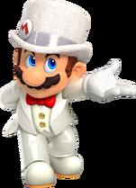 Art Mario marié Odyssey