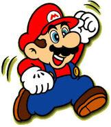 SML2 Artwork Mario
