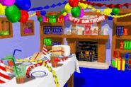 Blue's Beach Hut - Background - Donkey Kong Country 3 Advance