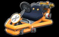 Corps Rétro orange clair
