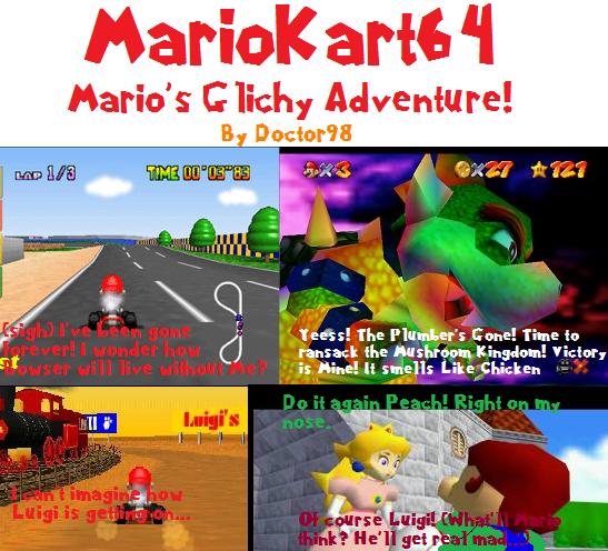 MarioKart64AGlichyAdventure