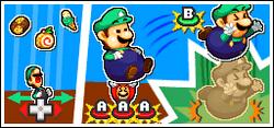 Mario y Luigi Basquetomelo