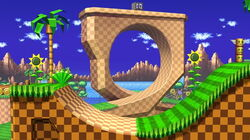 SSBU Green Hill Zone