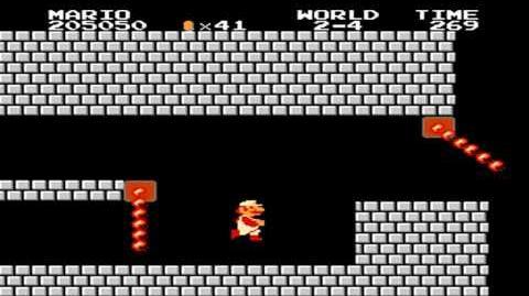 Super Mario Bros. - World 2-4
