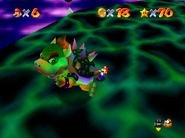 Bowser in the Sky - Tail Flinging - Super Mario 64