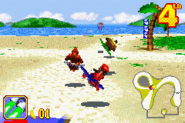 Diddy, Donkey and K. Rool - Beach Race - Diddy Kong Pilot (2001)