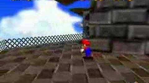 Super Mario 64 Walkthrough (To The Top Of The Fortress )