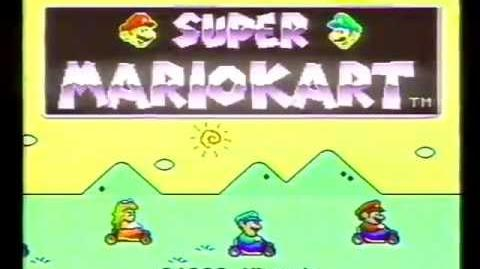 Super Mario Kart commercial (1992)