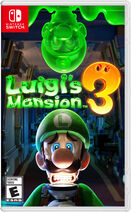 Luigi's Mansion 3 СА обложка