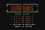 Luigi Bros title