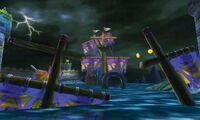 MK7 Screenshot Warios Galeonenwrack