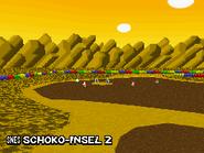 MKDS Screenshot SNES Schoko-Insel 2