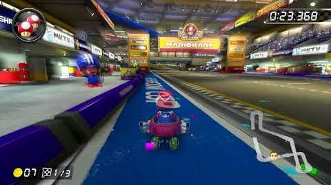Mario Kart Stadium -200cc- - 1-09.159 - vƒ◆Kevin- (Mario Kart 8 Deluxe World Record)
