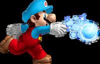 NSMBW Artwork Eis-Mario