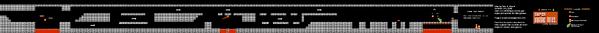 SMB World 7-4 NES level map