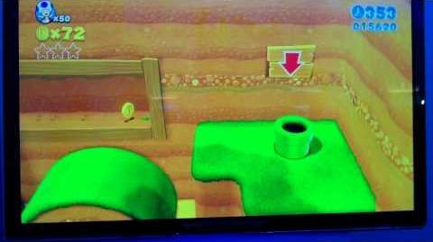 Super Mario 3D World - Level 2-1 Mice Hills (E3 2013)