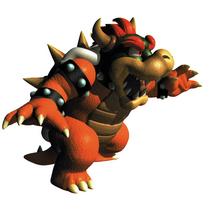 Art Bowser Mario 64 4