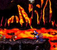 DKC2 Screenshot Glutofen