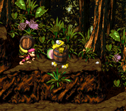 DKC2 Screenshot Klobber-Chaos 4