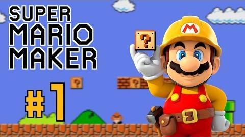 FIRST EPISODE!!! Super Mario Maker Gameplay 1
