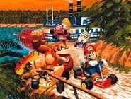 Jungle DK - MK64 (affiche)