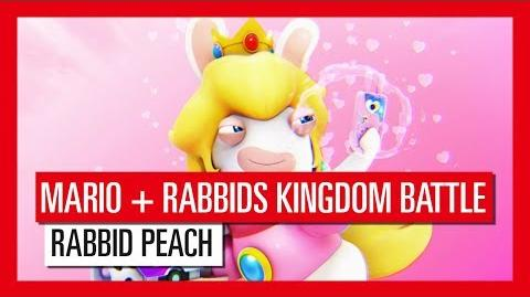 Mario Rabbids Kingdom Battle - Rabbid Peach