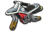 Moto Standard Roi Boo 8