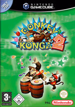 Verpackung Donkey Konga 2