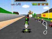 Luigi Circuit MK64 Start