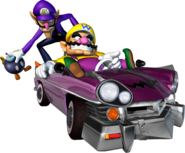 Wario and Waluigi - MKDD