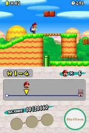 World 1-4 - Shell Mario - New Super Mario Bros