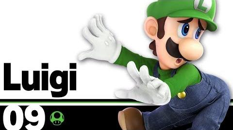 09 Luigi – Super Smash Bros