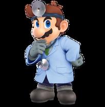 Art Dr. Mario bleu Ultimate